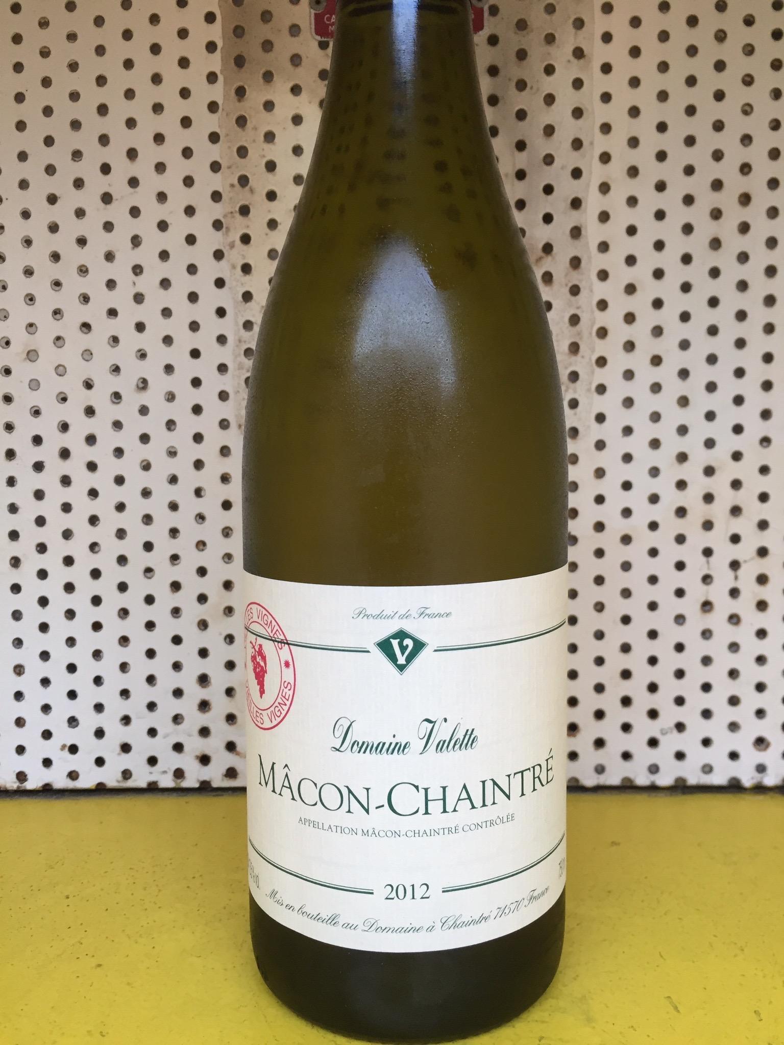Bourgogne/ Valette/ Mâcon Chaintré