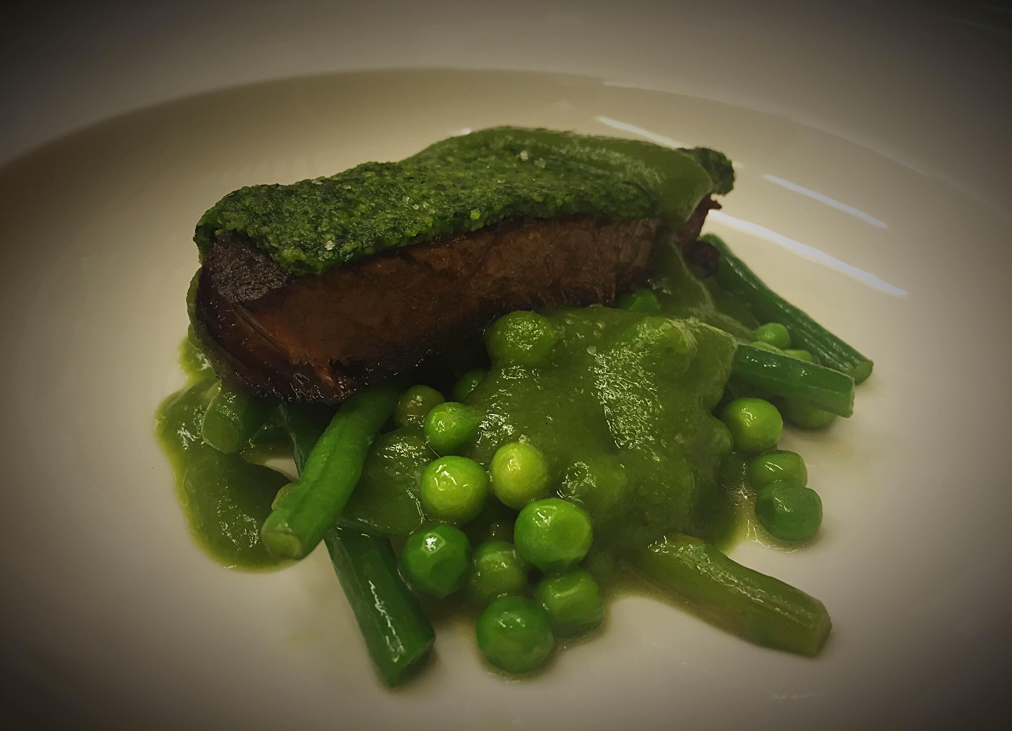 Paleron De Boeuf / Haricots Verts / Petits Pois